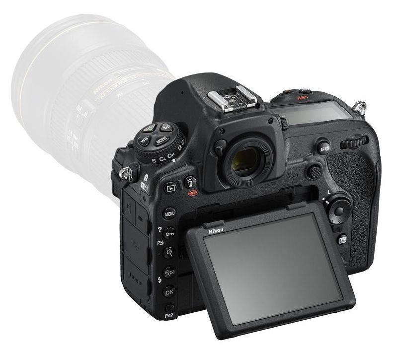 Фотоаппарат Nikon D850 BODY черный (VBA520AE) - фото 6