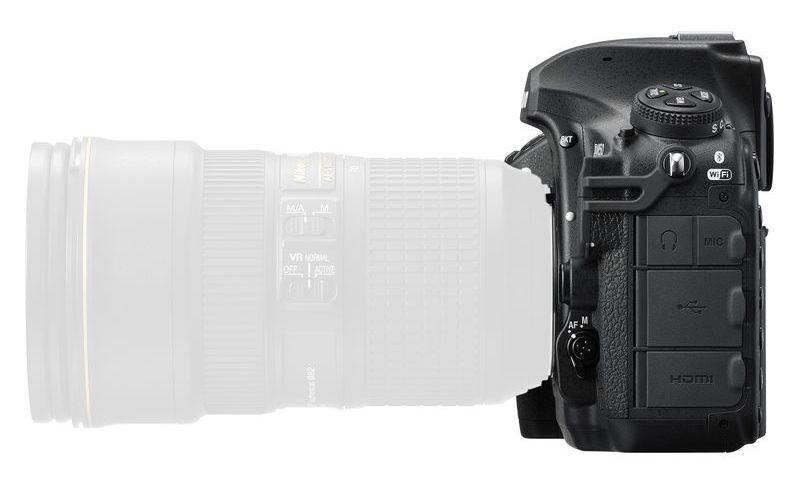 Фотоаппарат Nikon D850 BODY черный (VBA520AE) - фото 7