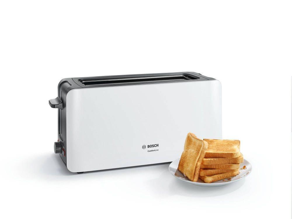 Тостер Bosch TAT6A001 белый - фото 1