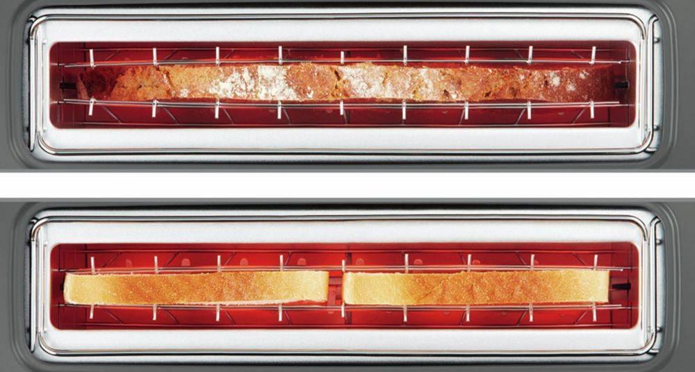 Тостер Bosch TAT6A004 красный - фото 2