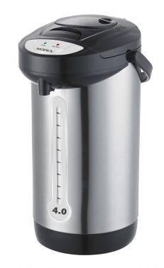 Термопот Supra TPS-3012 черный / серебристый