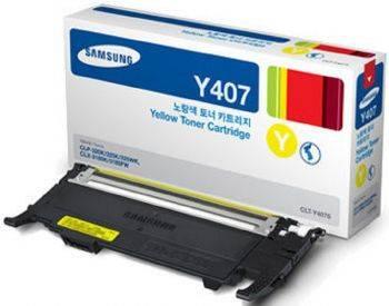 Картридж Samsung CLT-Y407S желтый (su476a)