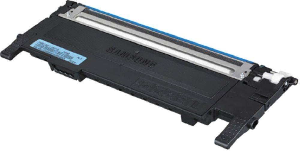 Картридж Samsung CLT-C407S голубой (ST998A) - фото 1