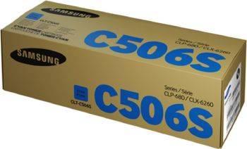 Картридж Samsung CLT-C506S голубой (su049a)