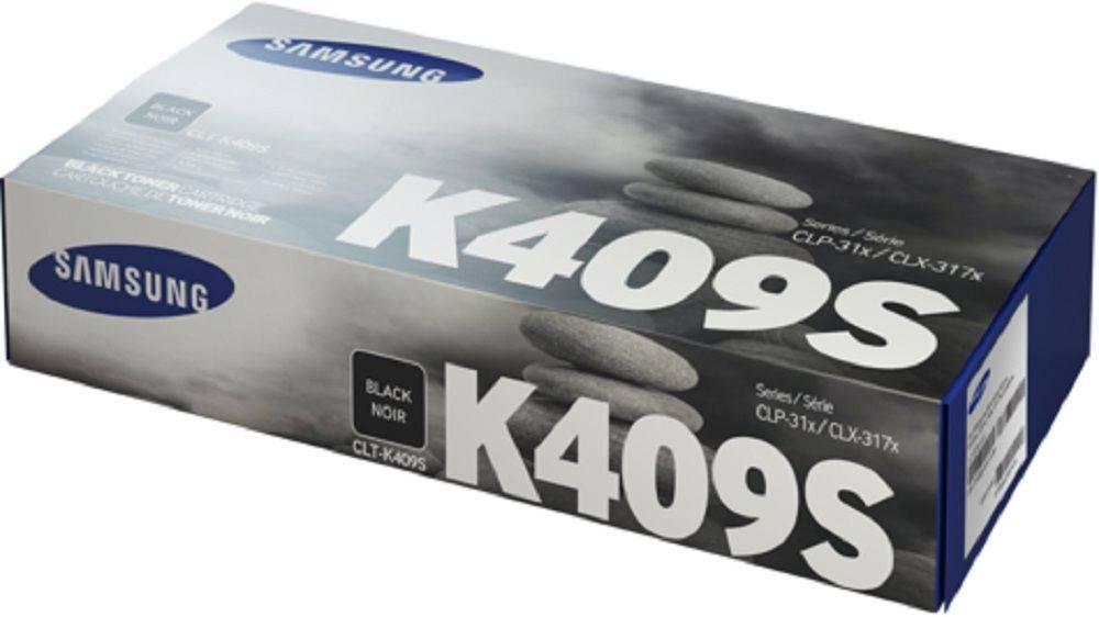 Картридж Samsung CLT-K409S черный (SU140A) - фото 1