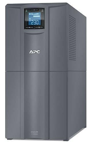 ИБП APC Smart-UPS C SMC3000I-RS серый - фото 1
