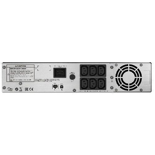 ИБП APC Smart-UPS C SMC2000I-2URS серый - фото 2