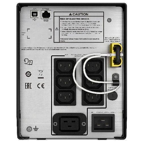 ИБП APC Smart-UPS C SMC2000I-RS серый - фото 2
