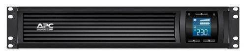 ИБП APC Smart-UPS C SMC1000I-2URS серый - фото 1