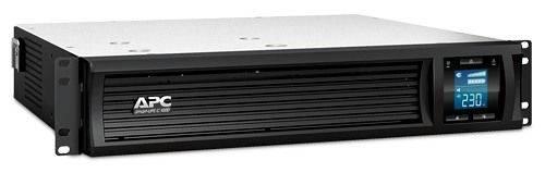 ИБП APC Smart-UPS C SMC1000I-2URS серый - фото 2