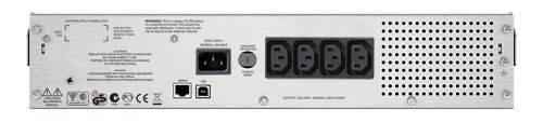 ИБП APC Smart-UPS C SMC1000I-2URS серый - фото 4