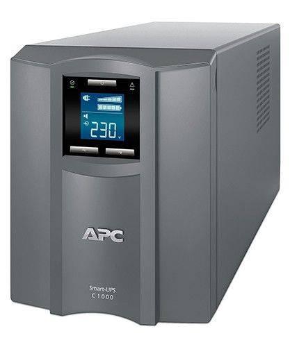 ИБП APC Smart-UPS C SMC1000I-RS серый - фото 1