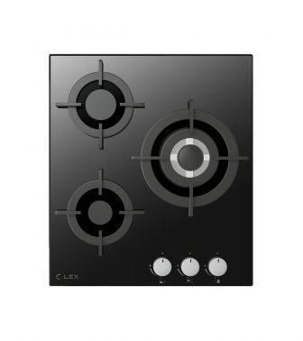 Газовая варочная поверхность Lex GVG 430 BL черный (CHAO000189)