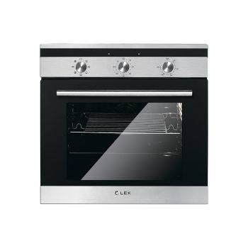 Духовой шкаф электрический Lex EDM 070 IX стекло черное (CHAO000192)