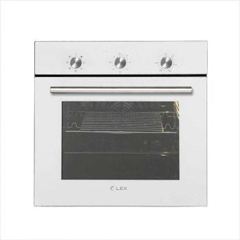 Духовой шкаф электрический Lex EDM 070 WH стекло белое (CHAO000193)