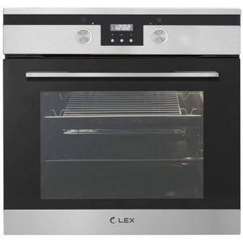 Духовой шкаф электрический Lex EDP 092 IX стекло черное (CHAO000194)
