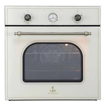 Духовой шкаф электрический Lex Classico EDM 070C IV стекло слоновая кость (CHAO000179)