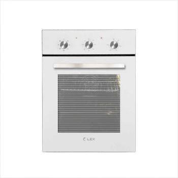 Духовой шкаф электрический Lex EDM 4570 WH стекло белое