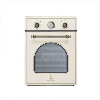 Духовой шкаф электрический Lex Classico EDM 4570C IV стекло слоновая кость (CHAO000303)