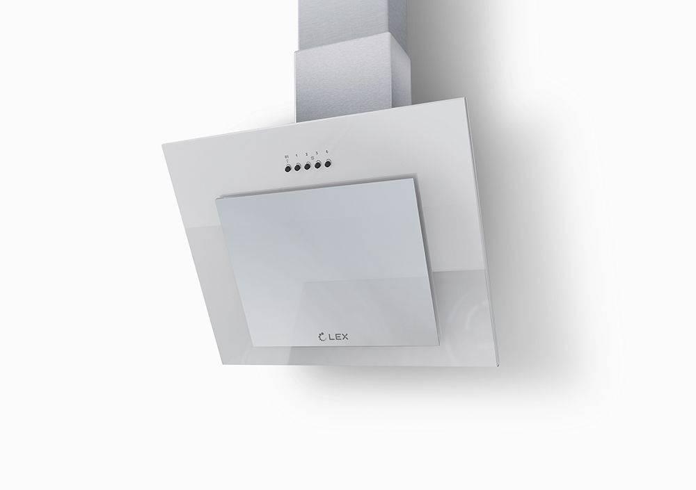Каминная вытяжка Lex MINI 600 белый (PLMA000073) - фото 1