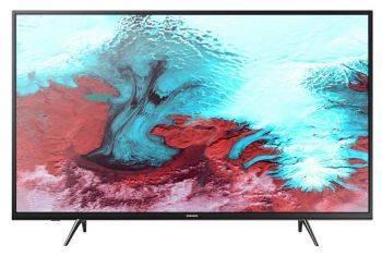 Телевизор LED Samsung UE43J5202AUXRU черный, диагональ экрана 43 (109.22 см), FULL HD (1080p), частота обновления 100Hz, тюнер DVB-T2, DVB-C, DVB-S2, USB разъем, встроенный WiFi, поддержка Smart TV