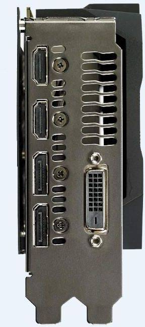 Видеокарта Asus GeForce CERBERUS-GTX1070TI-A8G 8192 МБ (CERBERUS-GTX1070TI-A8G) - фото 4