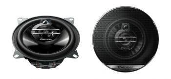 Автомобильные колонки Pioneer TS-G1030F, максимальная мощность 210 Вт, размер динамика 10 см (4 дюйм.), коаксиальные, трехполосные, импеданс 4Ом
