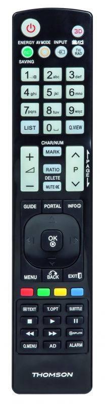 Универсальный пульт Thomson H-132499 LG TVs черный (00132499) - фото 1