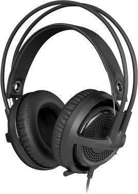 Наушники с микрофоном Steelseries Siberia P300 черный