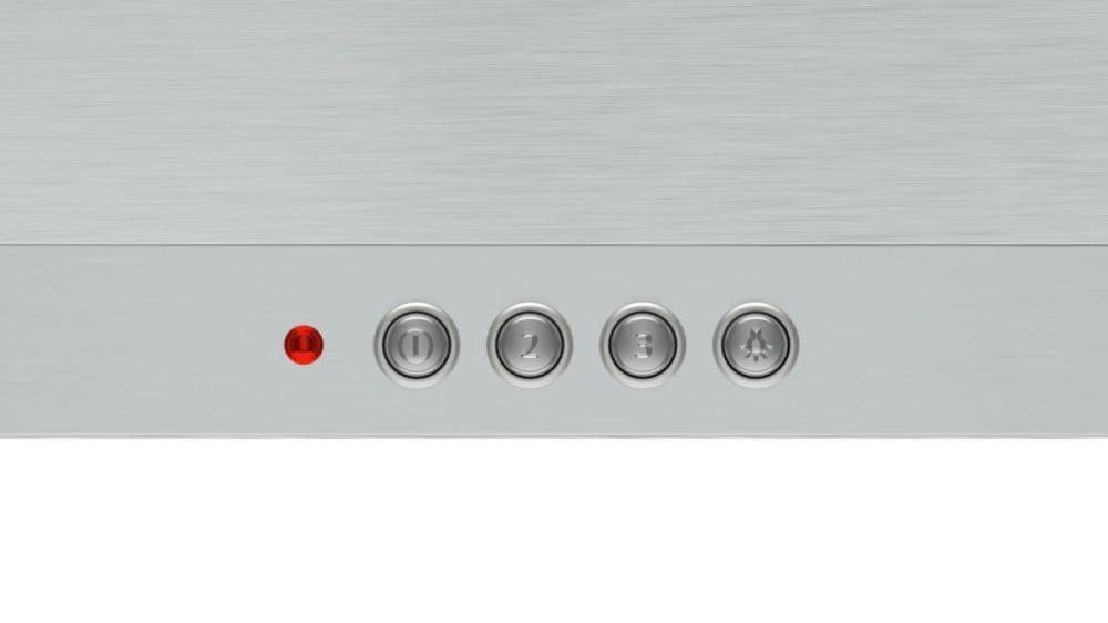 Каминная вытяжка Bosch DWP64CC50R нержавеющая сталь - фото 3