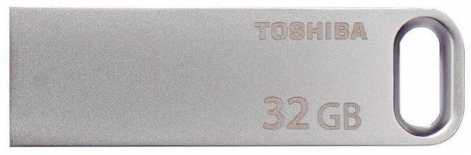 Флешка Toshiba Biwako U363 32ГБ USB3.0 серебристый (THN-U363S0320E4) - фото 1