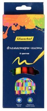 Фломастеры Silwerhof 877069-06 6цв. (плохая упаковка)