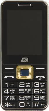 Мобильный телефон ARK U244 черный