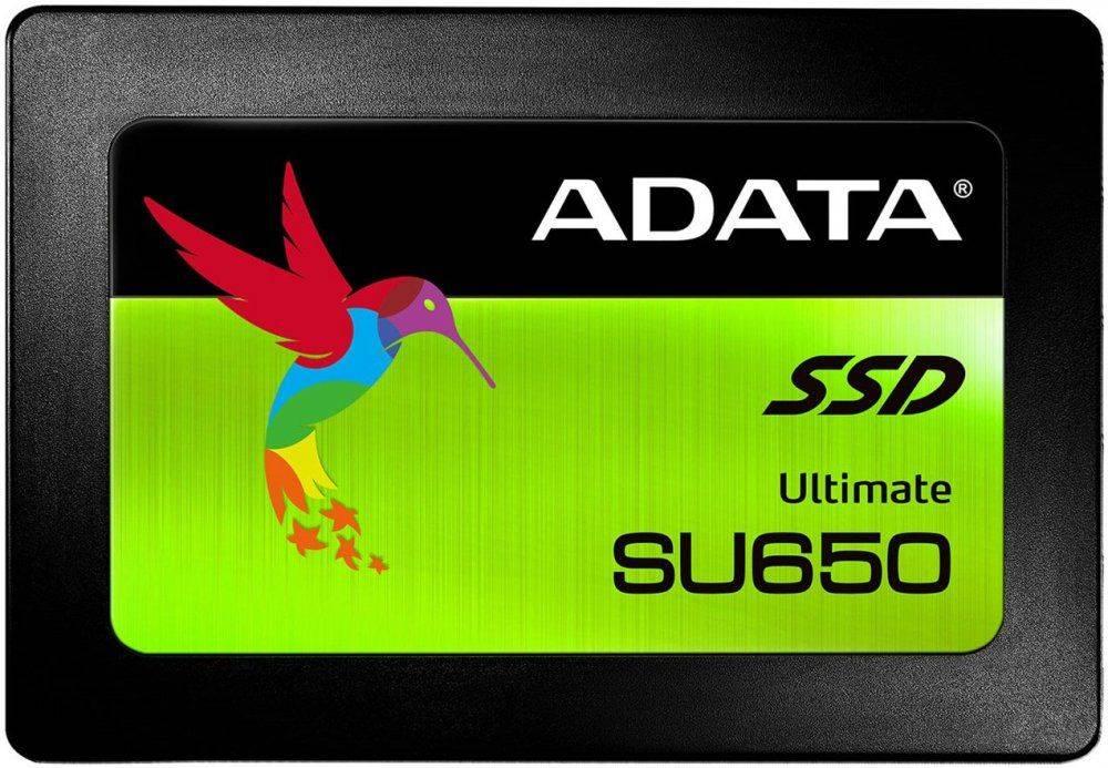 Накопитель SSD 240Gb A-Data Ultimate SU650 ASU650SS-240GT-C SATA III - фото 1