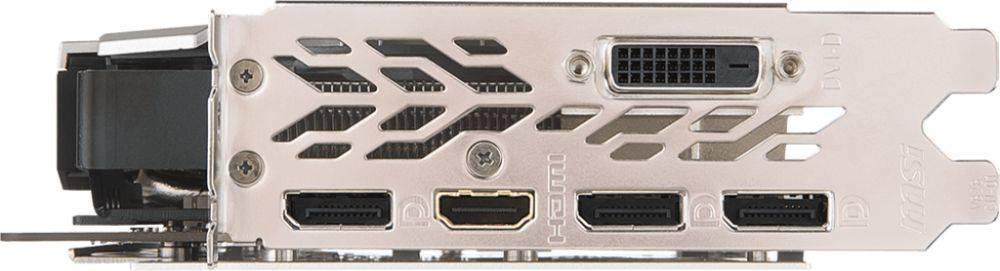 Видеокарта MSI GTX 1070 TI TITANIUM 8G 8192 МБ - фото 4