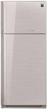 Холодильник Sharp SJ-GV58ASL серебристое стекло