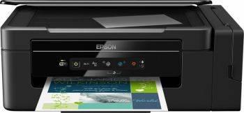 МФУ струйный Epson L3050, максимальный формат A4, скорость печати А4: монохромная до 33стр/мин, цветная до 15стр/мин, поддержка WiFi (C11CF46405)