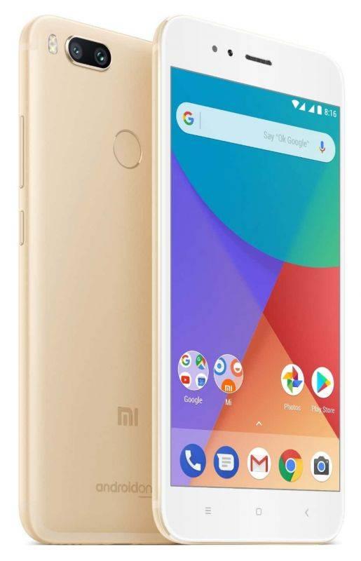 Смартфон Xiaomi Mi A1 32ГБ золотистый - фото 2