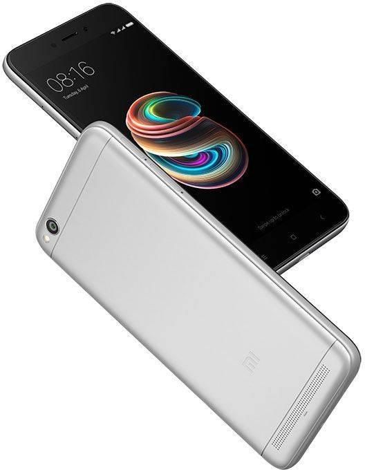 Смартфон Xiaomi Redmi 5A 16ГБ темно-серый - фото 5
