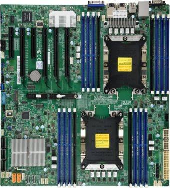 Серверная материнская плата Soc-3647 SuperMicro MBD-X11DPI-NT-O eATX