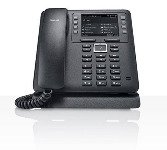 Телефон IP Gigaset MAXWELL 3 черный - фото 1