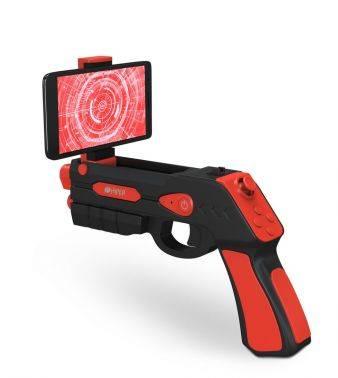Пистолет виртуальной реальности HIPER VR ARGUN501 черный/красный
