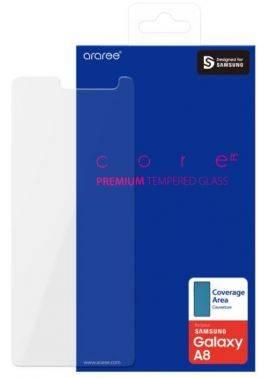 Защитное стекло Samsung araree для Samsung Galaxy A8+ (GP-A730KDEEBIA)