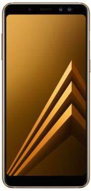 Смартфон Samsung Galaxy A8+ (2018) SM-A730F 32ГБ золотистый (SM-A730FZDDSER)