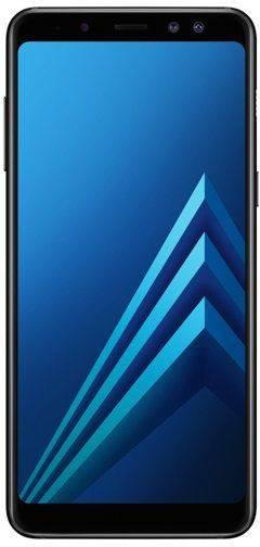 Смартфон Samsung Galaxy A8 (2018) SM-A530F 32ГБ черный - фото 1