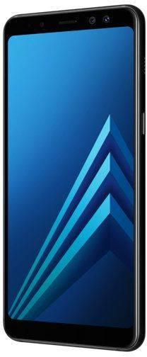 Смартфон Samsung Galaxy A8 (2018) SM-A530F 32ГБ черный - фото 2