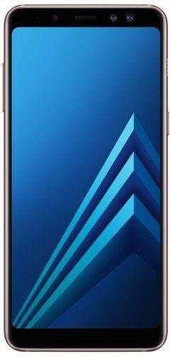 Смартфон Samsung Galaxy A8 (2018) SM-A530F 32ГБ синий (SM-A530FZBDSER) - фото 1