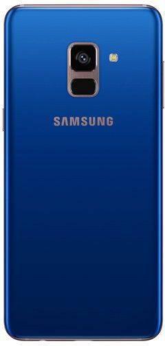 Смартфон Samsung Galaxy A8 (2018) SM-A530F 32ГБ синий (SM-A530FZBDSER) - фото 2