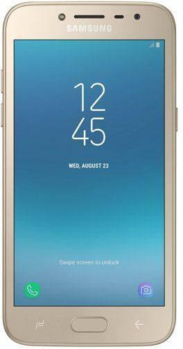 Смартфон Samsung Galaxy J2 (2018) SM-J250 16ГБ золотистый (SM-J250FZDDSER) - фото 1