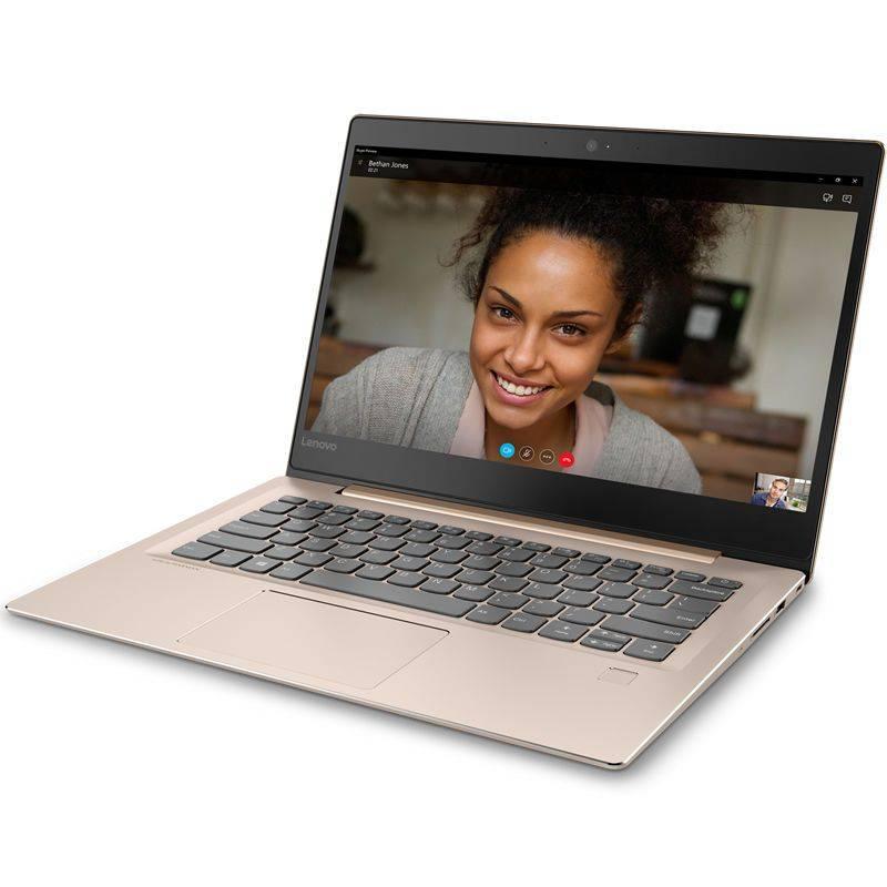 """Ноутбук 14"""" Lenovo IdeaPad 520S-14IKB (80X200DLRK) бронзовый - фото 1"""